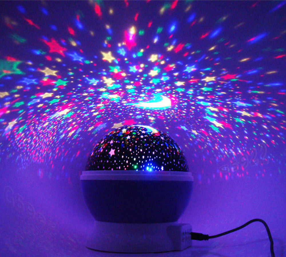 Zhoppy Starlight Projector Night Light Purple Zhoppy