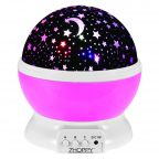 starlight projector night light (pink)