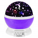 starlight projector night light (purple)